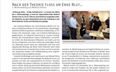 PIP Bericht Wintermeeting mit Dr. Joachim Schmidt, Christoph Schmidt und Dr. Joel Nettey-Marbell
