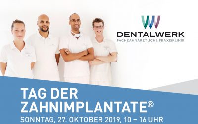 Tag der Zahnimplantate